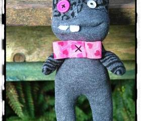 Handmade Sock Monster, Children toy
